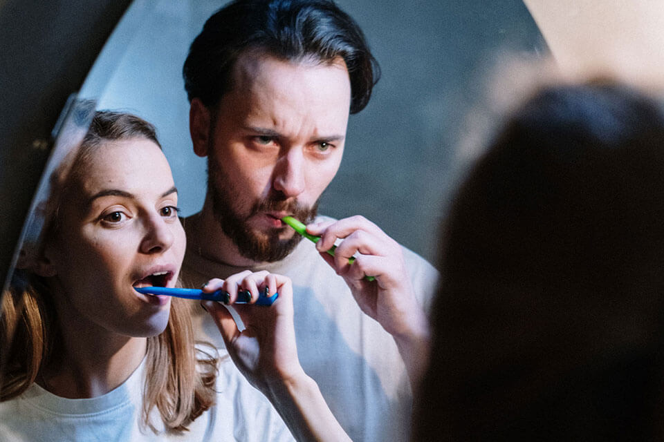 Oral care routine